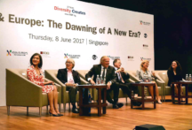 "Towards entry ""Professor Haussmann participated in the Board of Governors' Meeting of the Asia-Europe Foundation in Singapore on June 8, 2017"""
