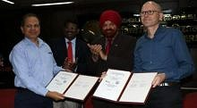 "Zum Artikel ""Memorandum of Understanding signed with Pondicherry University, India"""